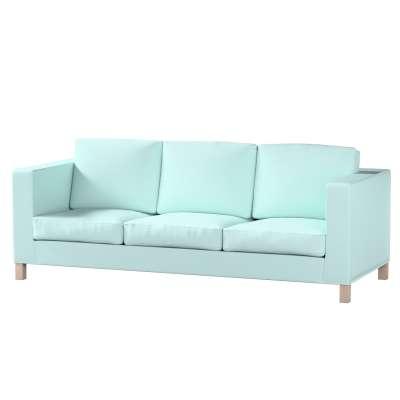 Karlanda 3-Sitzer Sofabezug nicht ausklappbar kurz von der Kollektion Cotton Panama, Stoff: 702-10