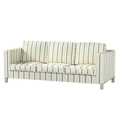 Pokrowiec na sofę Karlanda 3-osobową nierozkładaną, krótki w kolekcji Avinon, tkanina: 129-66