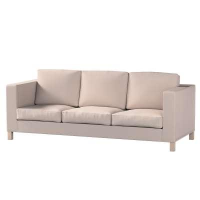 Pokrowiec na sofę Karlanda 3-osobową nierozkładaną, krótki w kolekcji Living, tkanina: 160-85