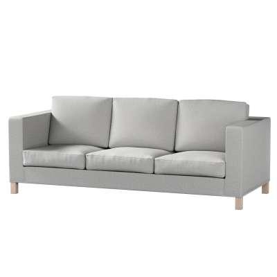 Pokrowiec na sofę Karlanda 3-osobową nierozkładaną, krótki w kolekcji Living, tkanina: 160-89