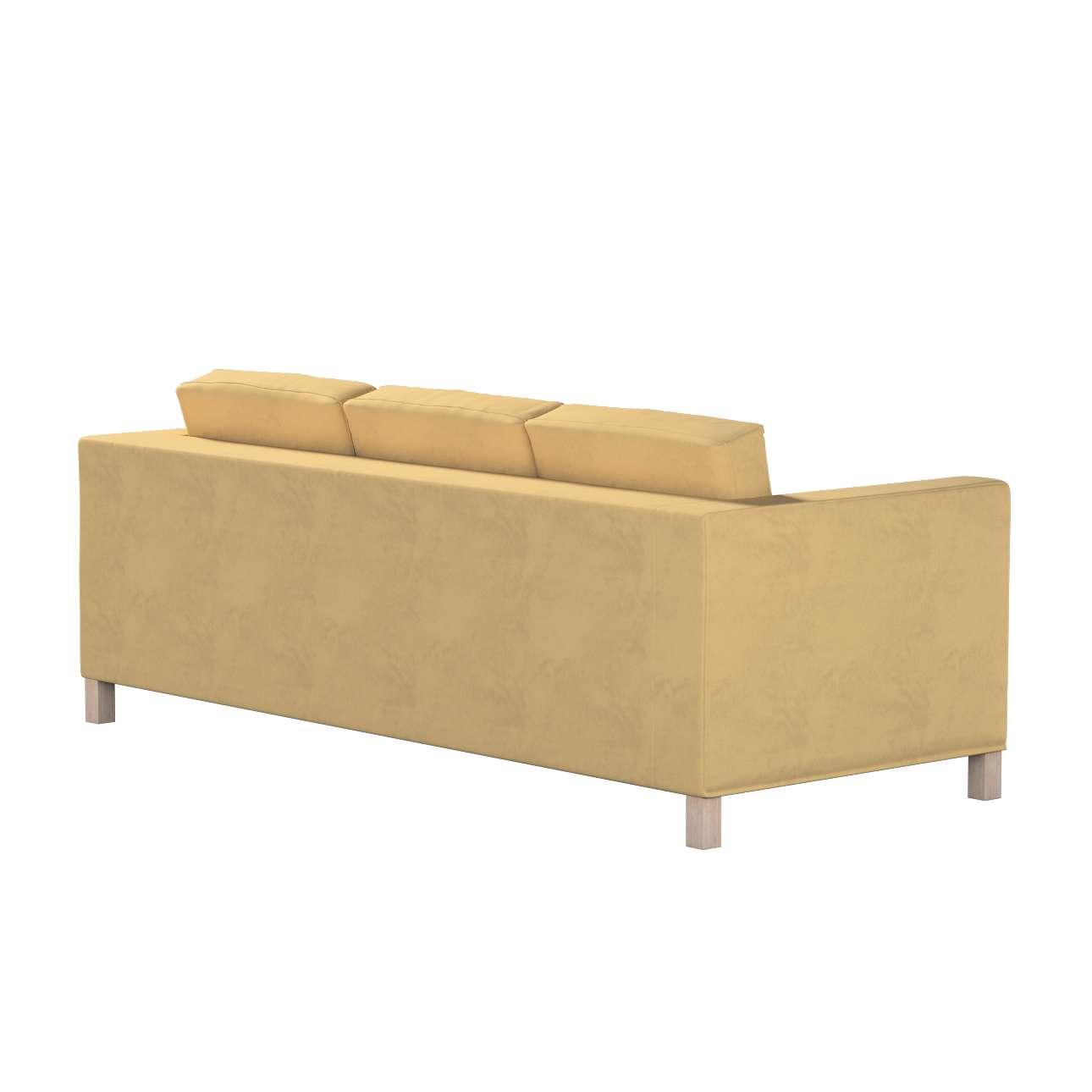 Karlanda 3-Sitzer Sofabezug nicht ausklappbar kurz von der Kollektion Living, Stoff: 160-93