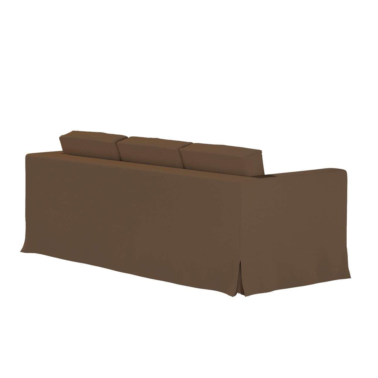 IKEA zitbankhoes/ overtrek voor Karlanda 3-zitsbank, lang van de collectie Cotton Panama, Stof: 702-02
