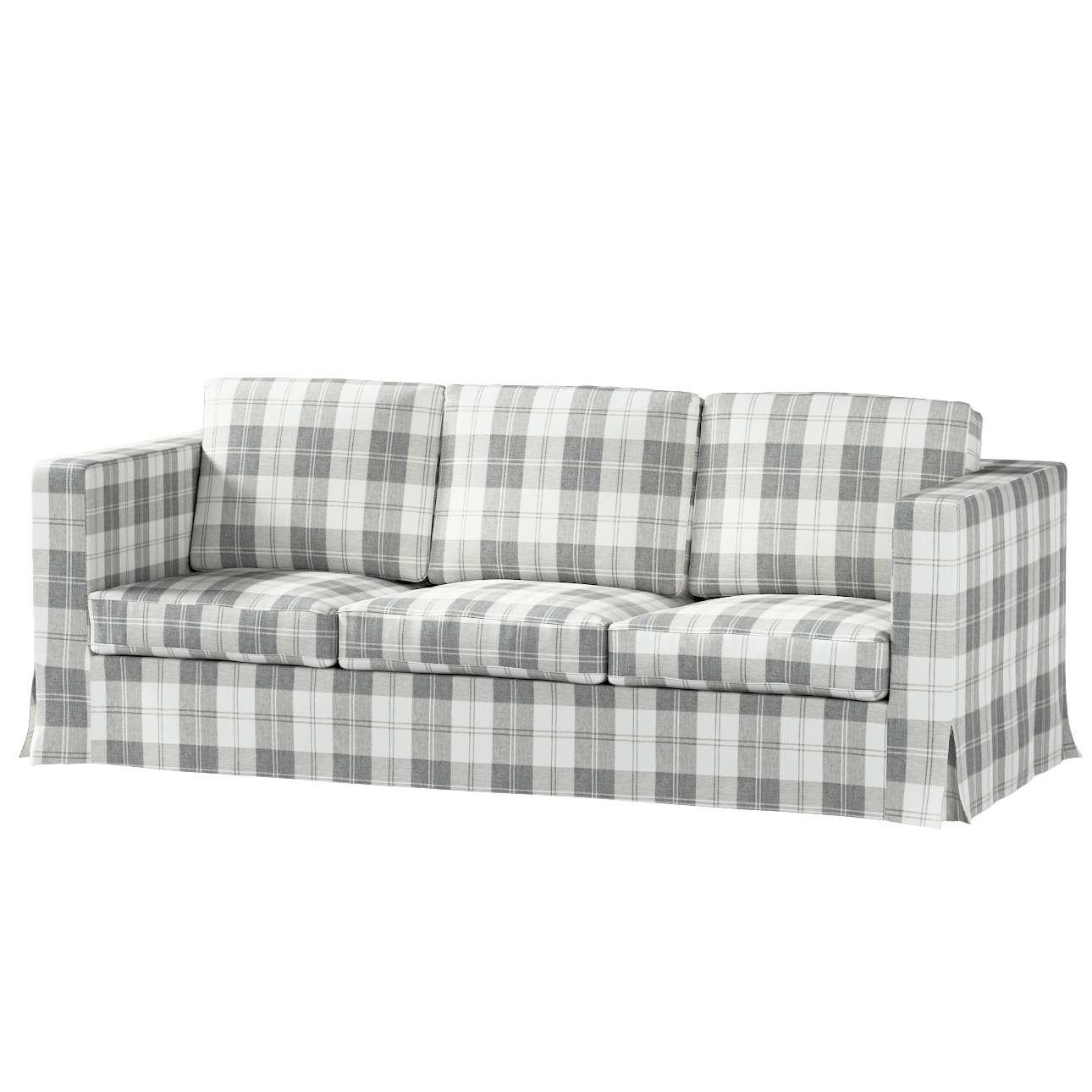Karlanda 3-Sitzer Sofabezug nicht ausklappbar lang von der Kollektion Edinburgh , Stoff: 115-79