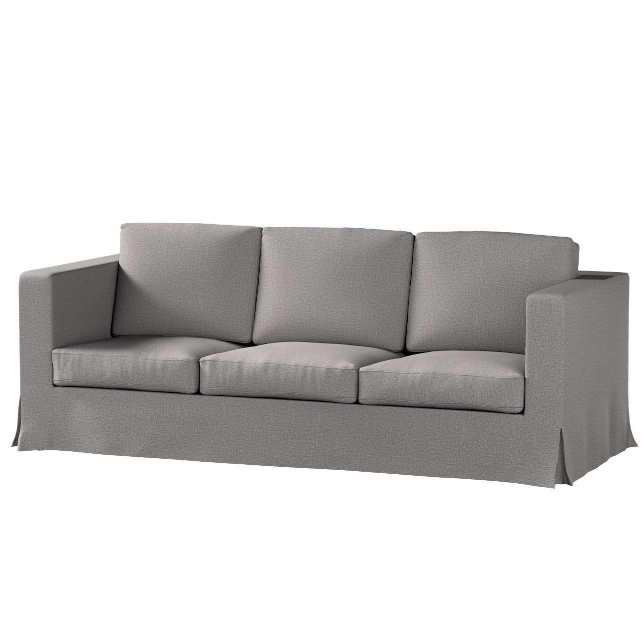 Karlanda 3-Sitzer Sofabezug nicht ausklappbar lang von der Kollektion Edinburgh , Stoff: 115-81