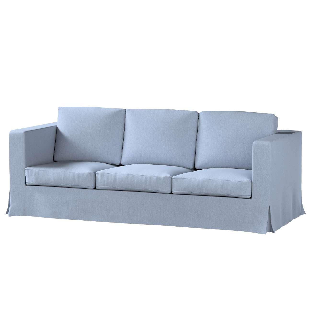Chenille, silber- blau
