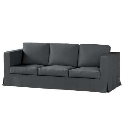Pokrowiec na sofę Karlanda 3-osobową nierozkładaną, długi w kolekcji Chenille, tkanina: 702-20