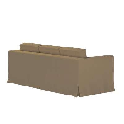 Karlanda 3-Sitzer Sofabezug nicht ausklappbar lang von der Kollektion Chenille , Stoff: 702-21