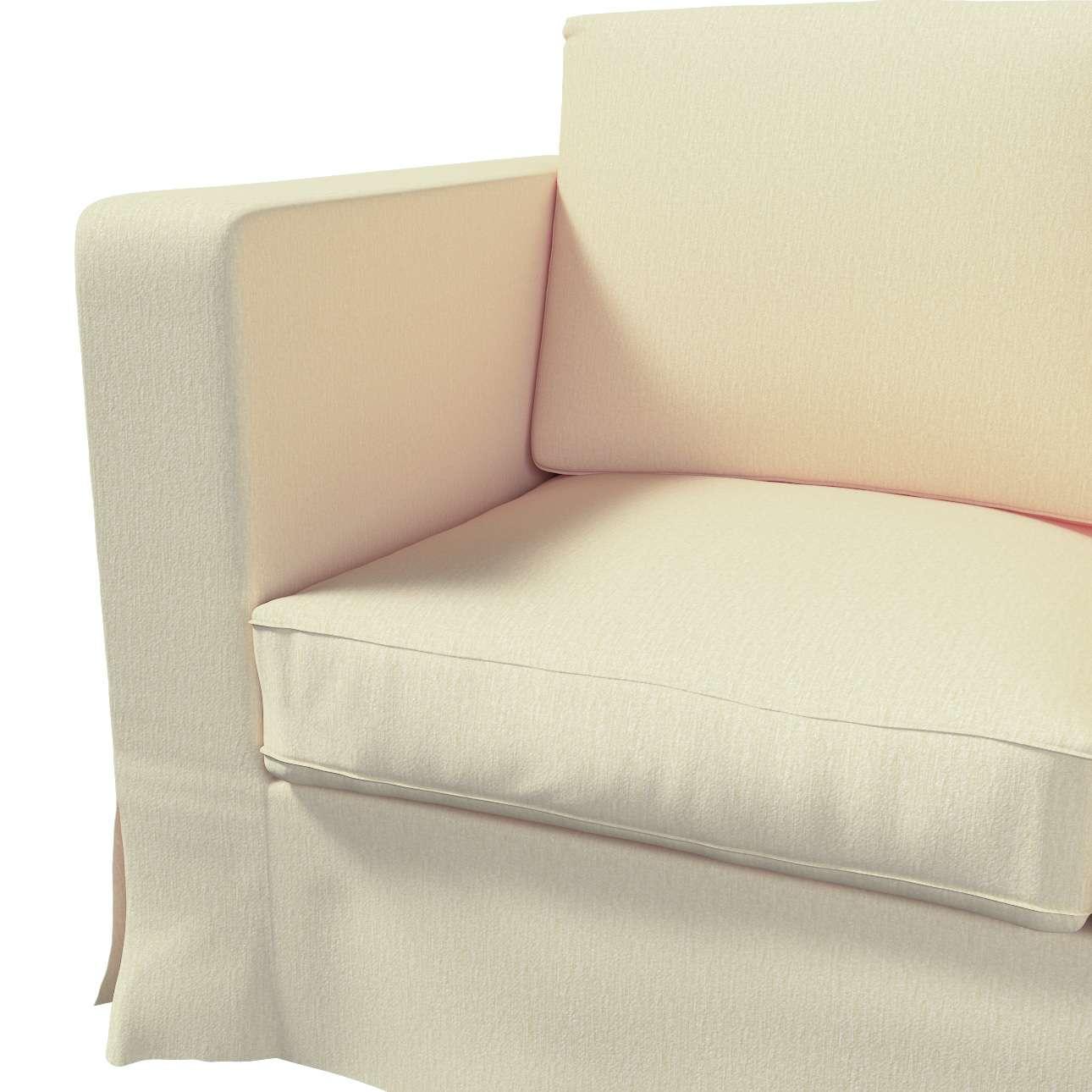 Karlanda 3-Sitzer Sofabezug nicht ausklappbar lang von der Kollektion Chenille , Stoff: 702-22