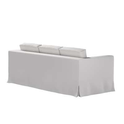 Pokrowiec na sofę Karlanda 3-osobową nierozkładaną, długi w kolekcji Chenille, tkanina: 702-23