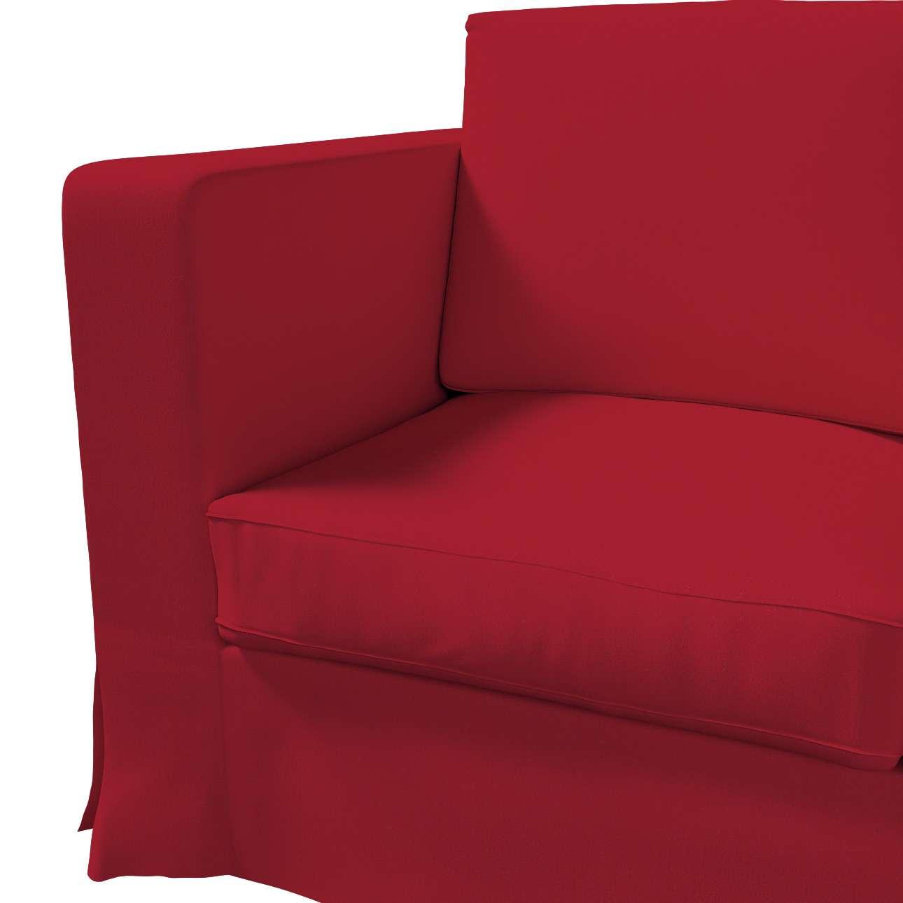Pokrowiec na sofę Karlanda 3-osobową nierozkładaną, długi w kolekcji Chenille, tkanina: 702-24