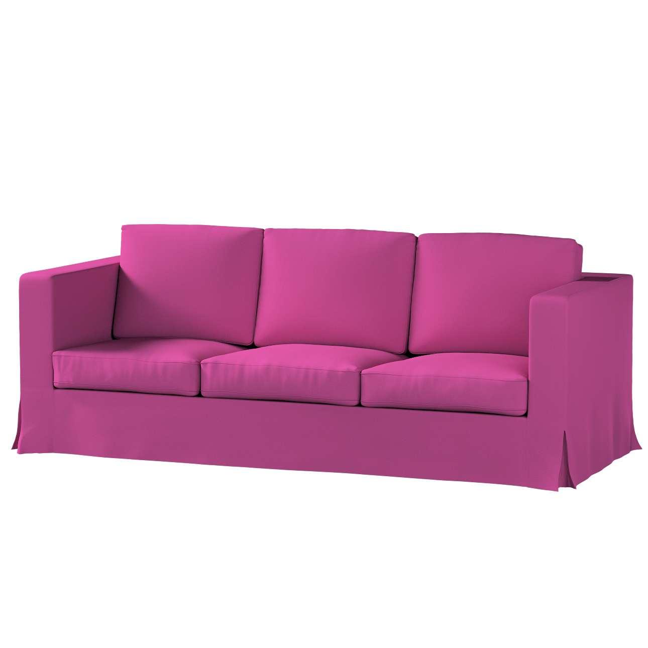 Pokrowiec na sofę Karlanda 3-osobową nierozkładaną, długi w kolekcji Etna, tkanina: 705-23