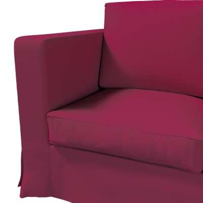 Karlanda 3-Sitzer Sofabezug nicht ausklappbar lang von der Kollektion Cotton Panama, Stoff: 702-32
