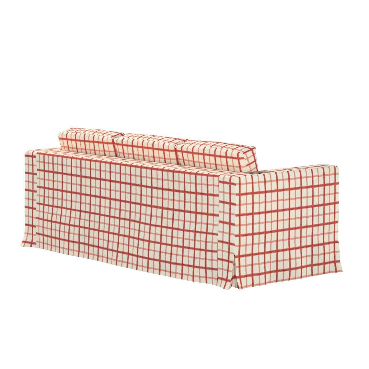 Pokrowiec na sofę Karlanda 3-osobową nierozkładaną, długi w kolekcji Avinon, tkanina: 131-15