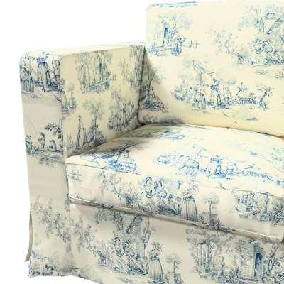 Karlanda 3-Sitzer Sofabezug nicht ausklappbar lang von der Kollektion Avinon, Stoff: 132-66