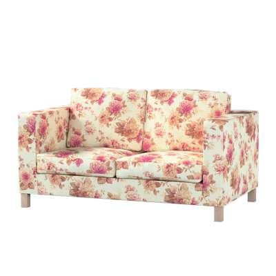 Pokrowiec na sofę Karlanda 2-osobową nierozkładaną, krótki w kolekcji Londres, tkanina: 141-06
