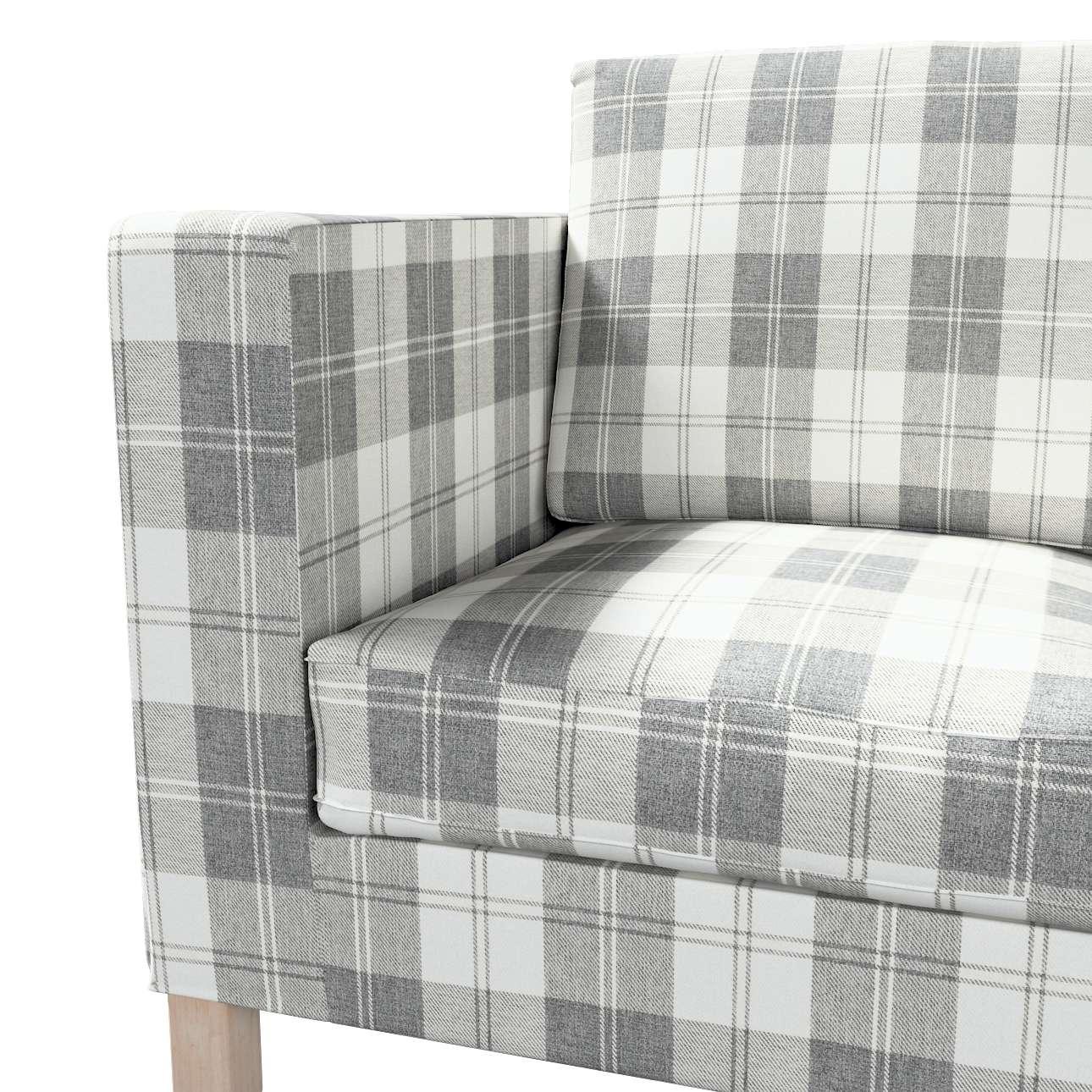 Pokrowiec na sofę Karlanda 2-osobową nierozkładaną, krótki w kolekcji Edinburgh, tkanina: 115-79