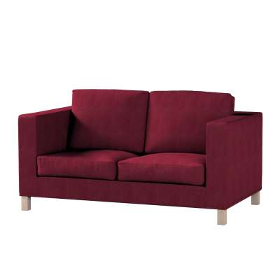 Pokrowiec na sofę Karlanda 2-osobową nierozkładaną, krótki w kolekcji Chenille, tkanina: 702-19
