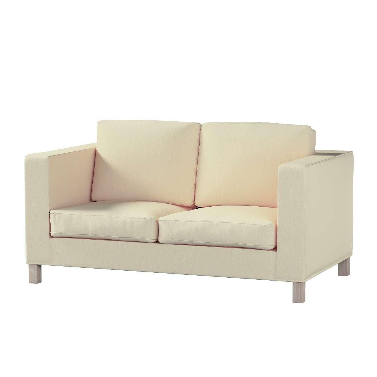Pokrowiec na sofę Karlanda 2-osobową nierozkładaną, krótki w kolekcji Chenille, tkanina: 702-22