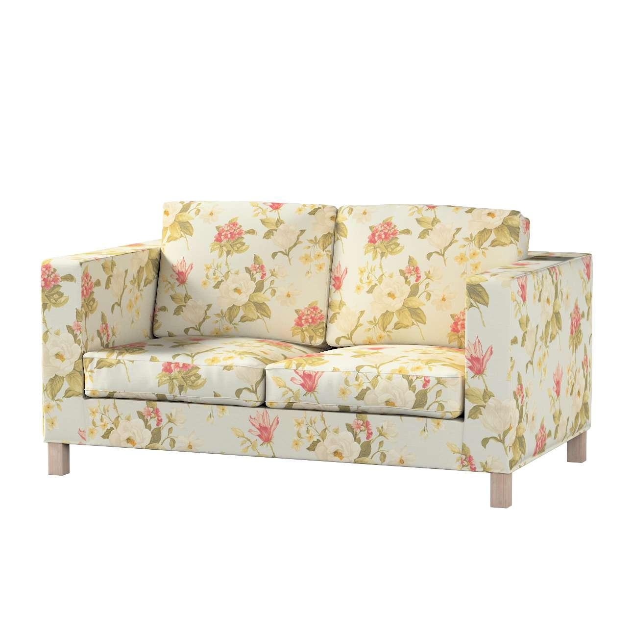 Pokrowiec na sofę Karlanda 2-osobową nierozkładaną, krótki w kolekcji Londres, tkanina: 123-65