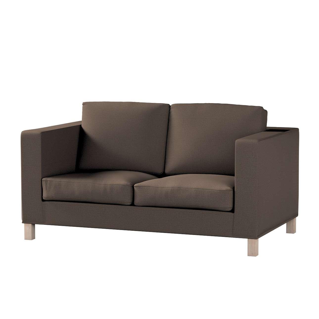 Pokrowiec na sofę Karlanda 2-osobową nierozkładaną, krótki w kolekcji Etna, tkanina: 705-08