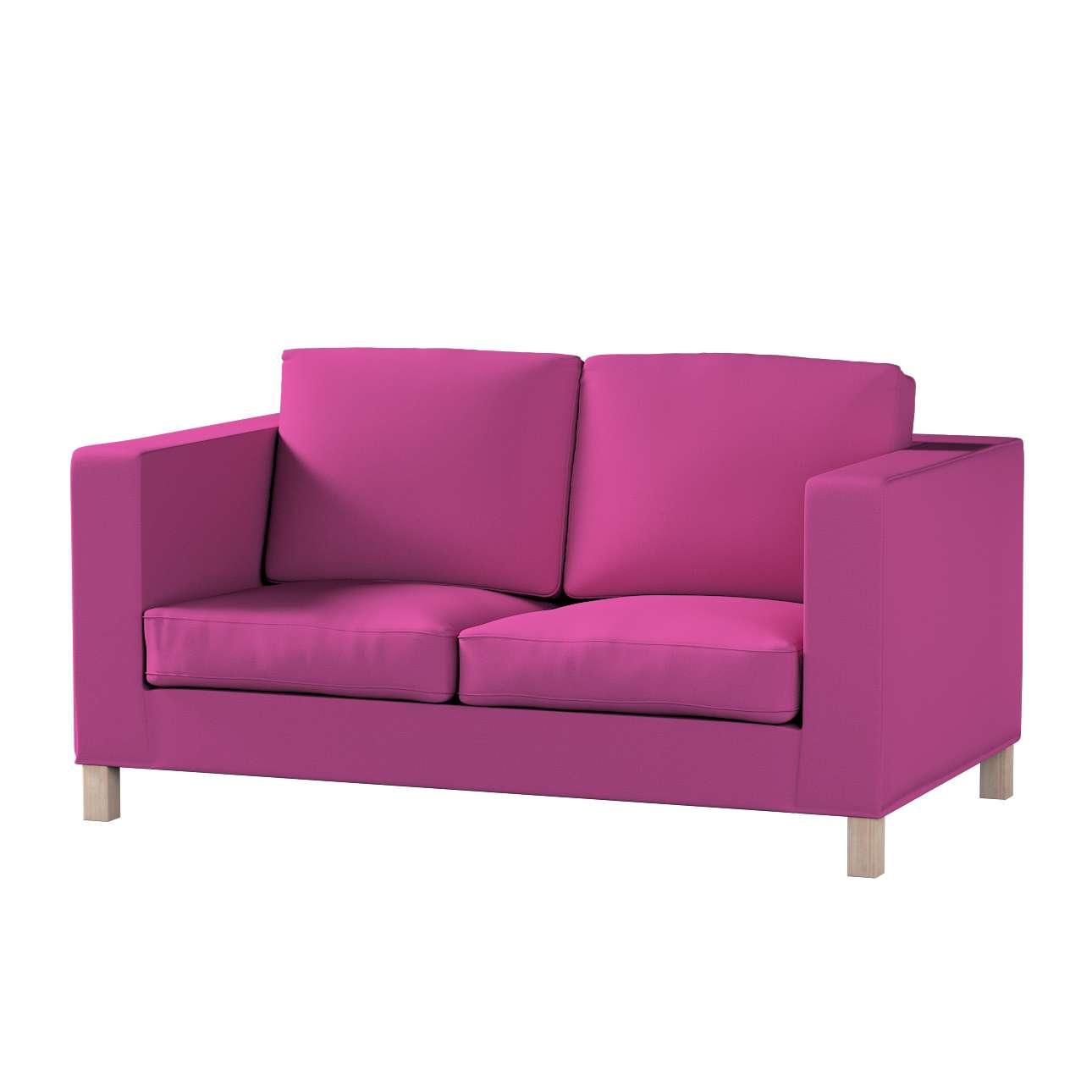 Pokrowiec na sofę Karlanda 2-osobową nierozkładaną, krótki w kolekcji Etna, tkanina: 705-23