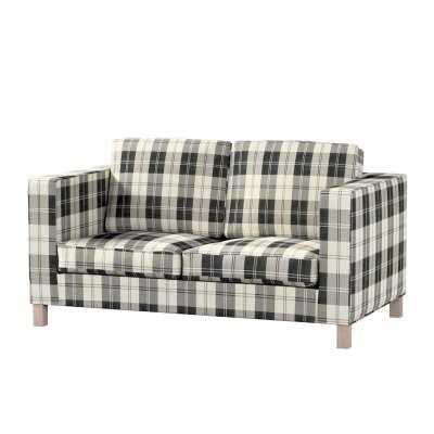 Karlanda 2-Sitzer Sofabezug nicht ausklappbar kurz von der Kollektion Edinburgh , Stoff: 115-74