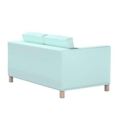 Pokrowiec na sofę Karlanda 2-osobową nierozkładaną, krótki w kolekcji Cotton Panama, tkanina: 702-10