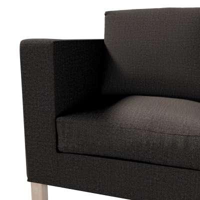 Pokrowiec na sofę Karlanda 2-osobową nierozkładaną, krótki w kolekcji Etna, tkanina: 702-36
