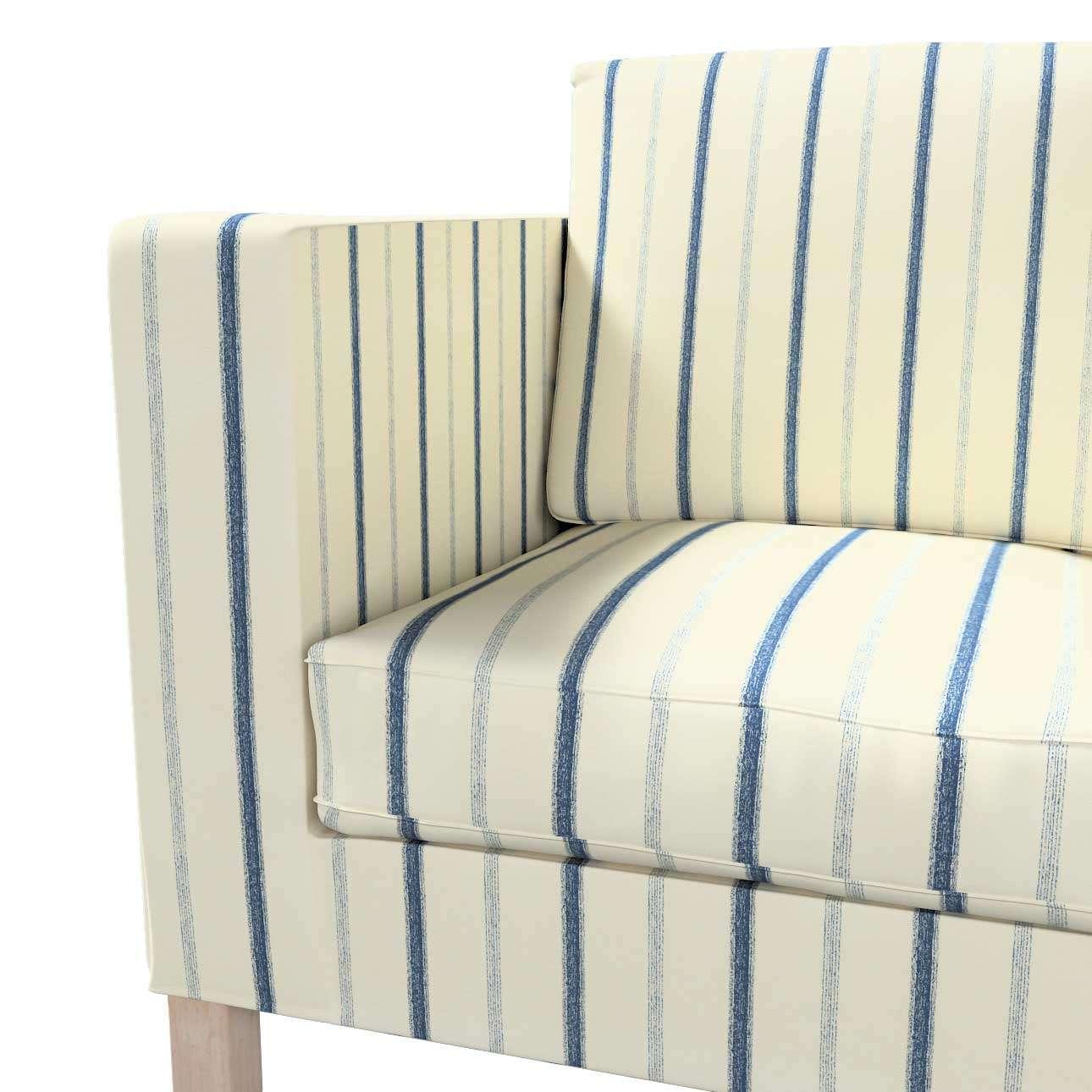 Pokrowiec na sofę Karlanda 2-osobową nierozkładaną, krótki w kolekcji Avinon, tkanina: 129-66