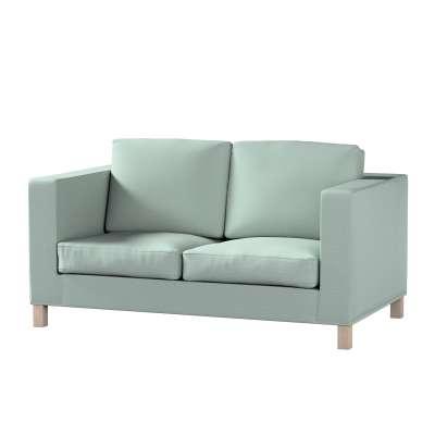 Pokrowiec na sofę Karlanda 2-osobową nierozkładaną, krótki w kolekcji Living, tkanina: 160-86