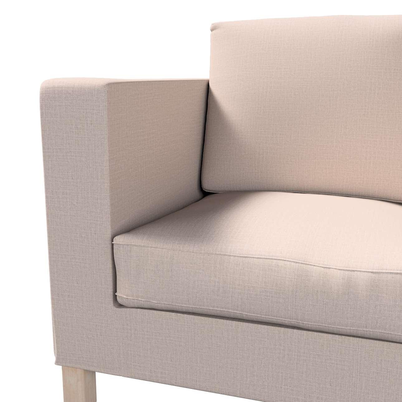 Pokrowiec na sofę Karlanda 2-osobową nierozkładaną, krótki w kolekcji Living, tkanina: 160-85