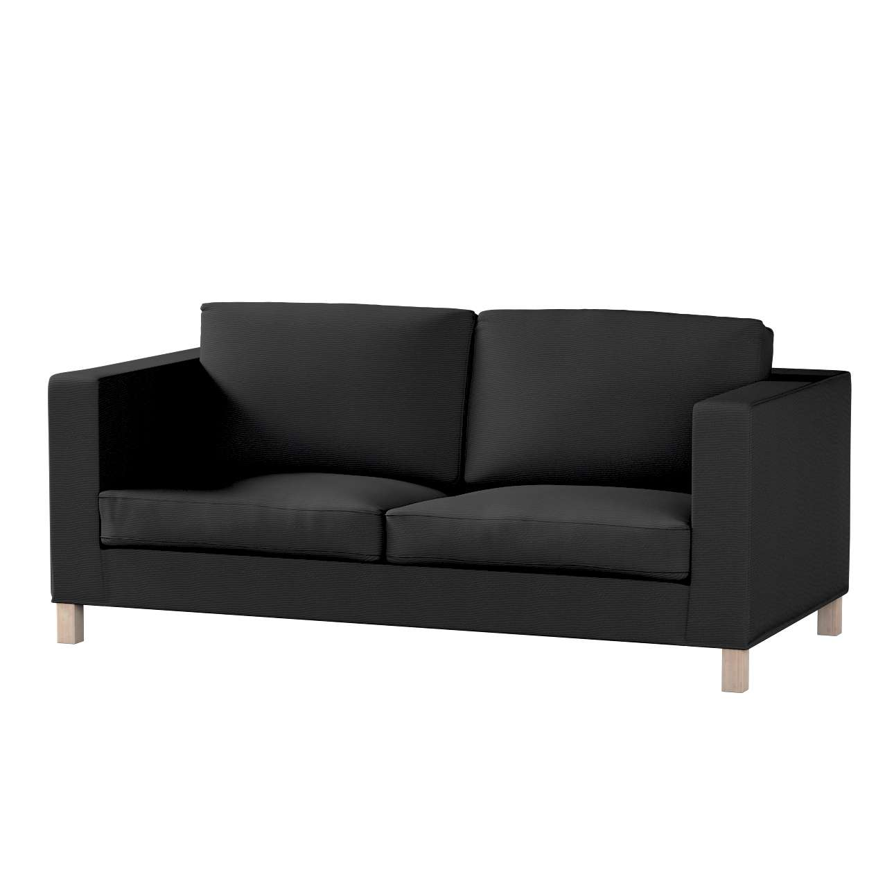 Pokrowiec na sofę Karlanda rozkładaną, krótki w kolekcji Etna, tkanina: 705-00