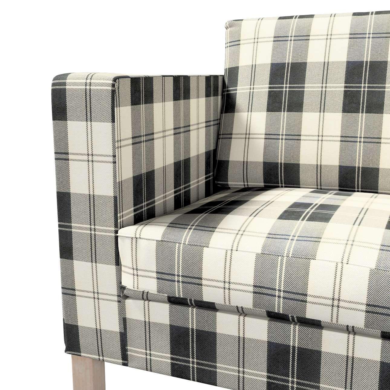 Pokrowiec na sofę Karlanda rozkładaną, krótki w kolekcji Edinburgh, tkanina: 115-74