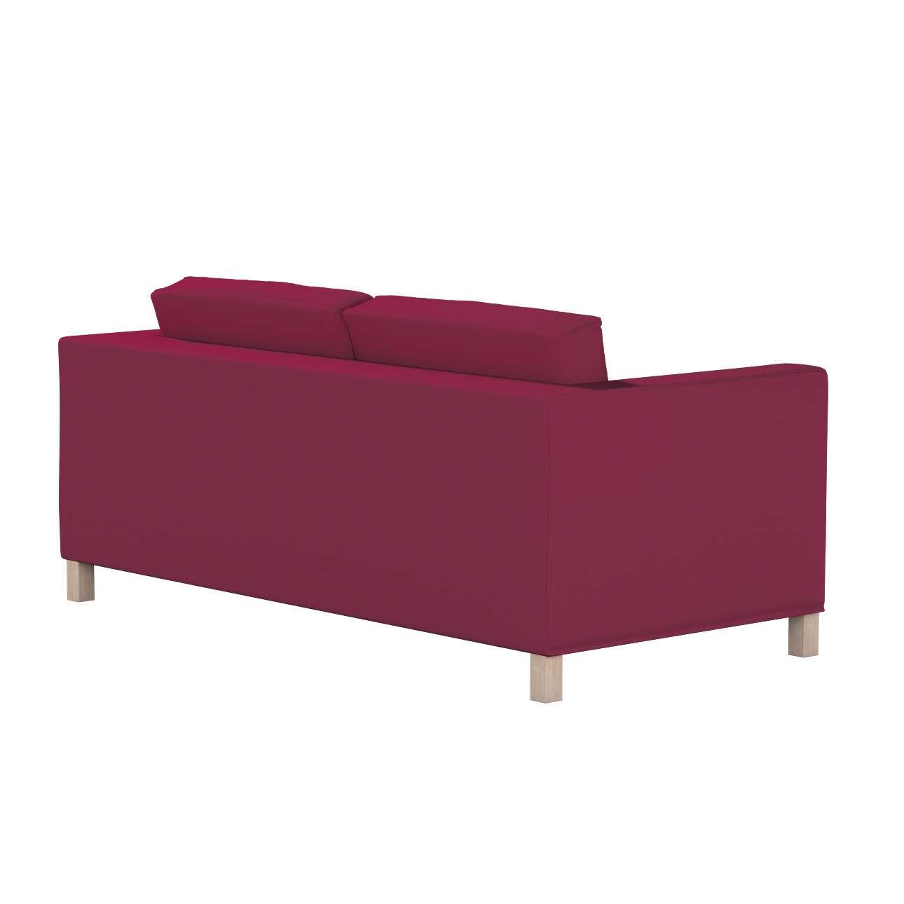 Pokrowiec na sofę Karlanda rozkładaną, krótki w kolekcji Cotton Panama, tkanina: 702-32