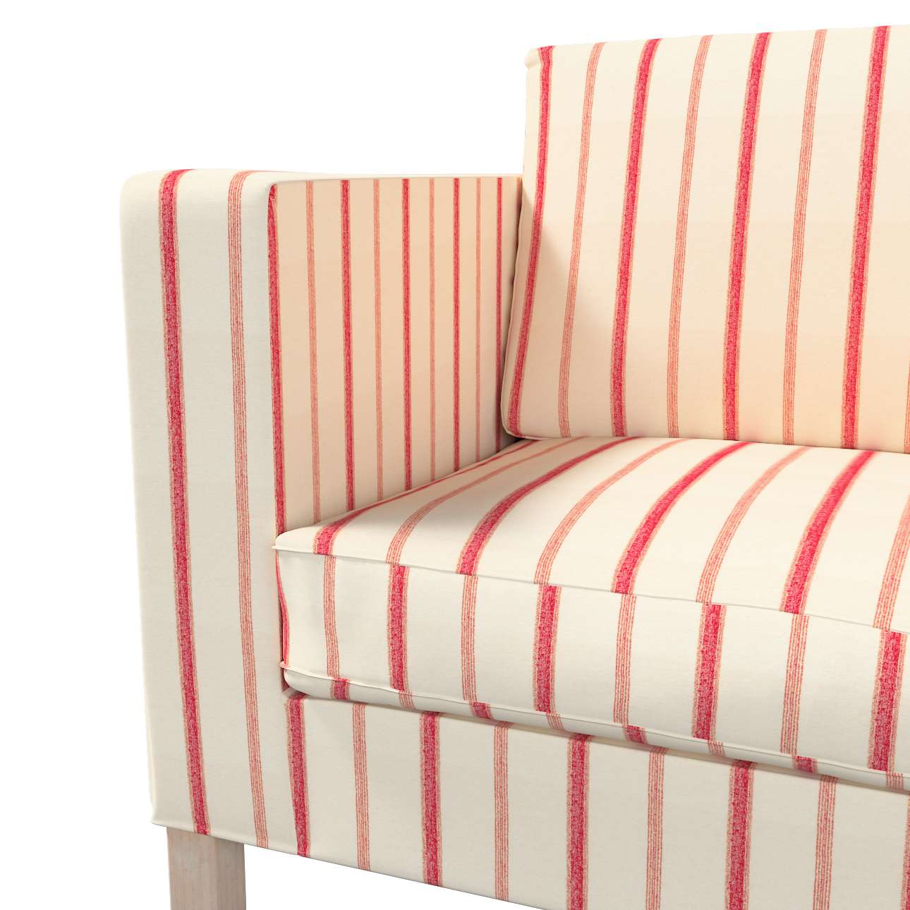 Pokrowiec na sofę Karlanda rozkładaną, krótki w kolekcji Avinon, tkanina: 129-15