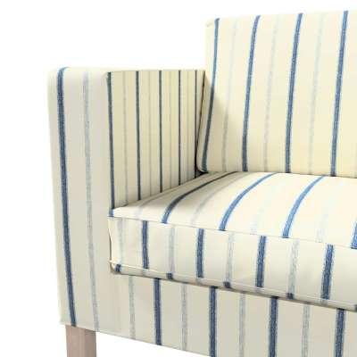 Pokrowiec na sofę Karlanda rozkładaną, krótki w kolekcji Avinon, tkanina: 129-66