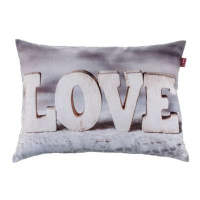 Love Print Cushion Cover 60x40 cm