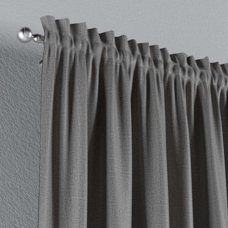 Zatemňujúci záves s navliekacou riasiacou páskou V kolekcii Blackout - zatemňujúca, tkanina: 269-63