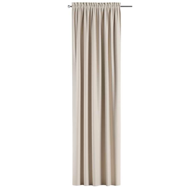 Zatemňujúci záves s navliekacou riasiacou páskou V kolekcii Blackout - zatemňujúca, tkanina: 269-66