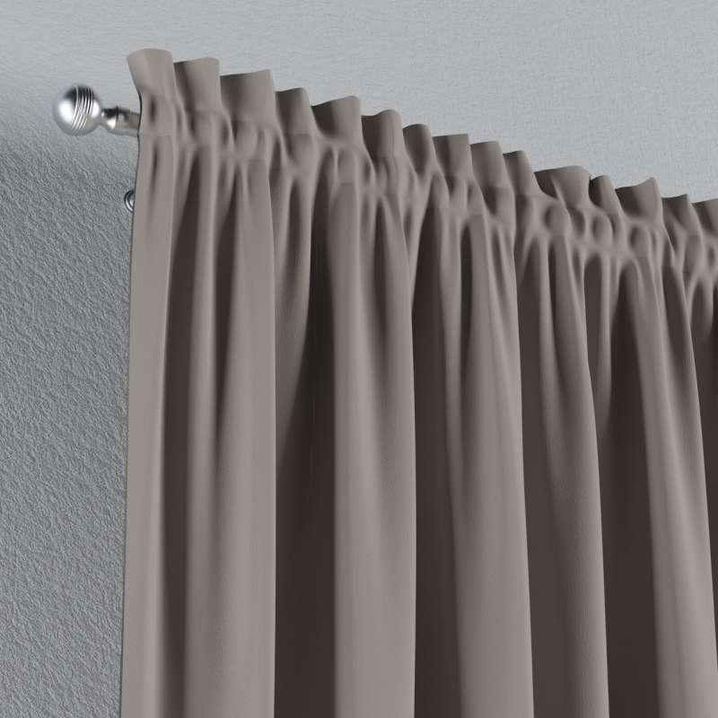 Zatemňujúci záves s navliekacou riasiacou páskou V kolekcii Blackout - zatemňujúca, tkanina: 269-81
