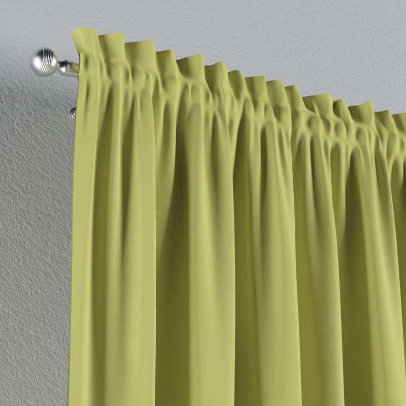 Zatemňujúci záves s navliekacou riasiacou páskou V kolekcii Blackout - zatemňujúca, tkanina: 269-17