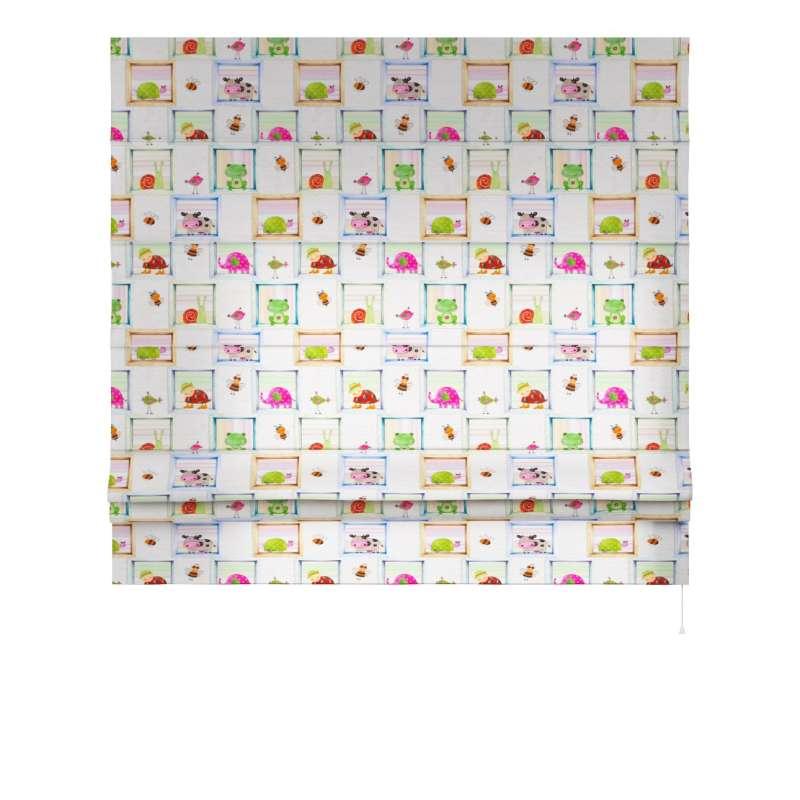 Foldegardin Paris<br/>Med lige flæse fra kollektionen Little World, Stof: 151-04