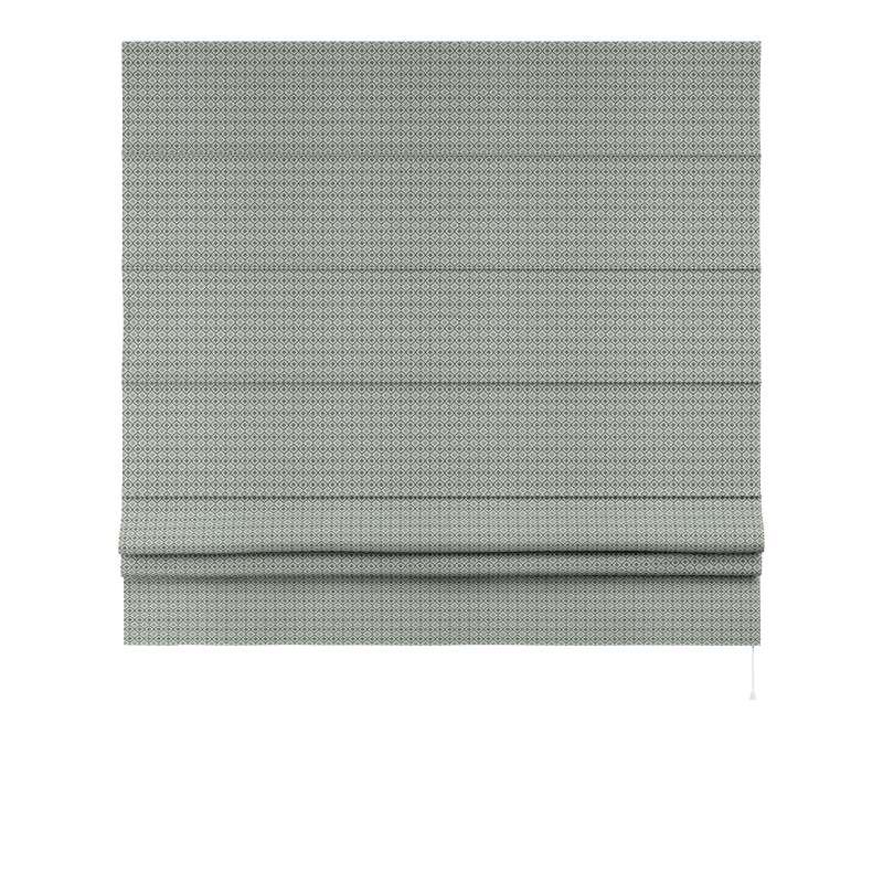 Foldegardin Paris<br/>Med lige flæse fra kollektionen Black & White, Stof: 142-76