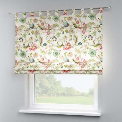 Verona tab top roman blind in collection Londres, fabric: 122-00