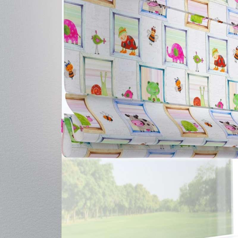 Liftgardin Verona<br/>Med stropper til gardinstang fra kolleksjonen Little World, Stoffets bredde: 151-04