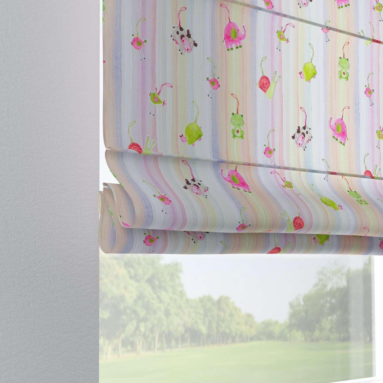 Liftgardin Verona<br/>Med stropper til gardinstang fra kolleksjonen Little World, Stoffets bredde: 151-05