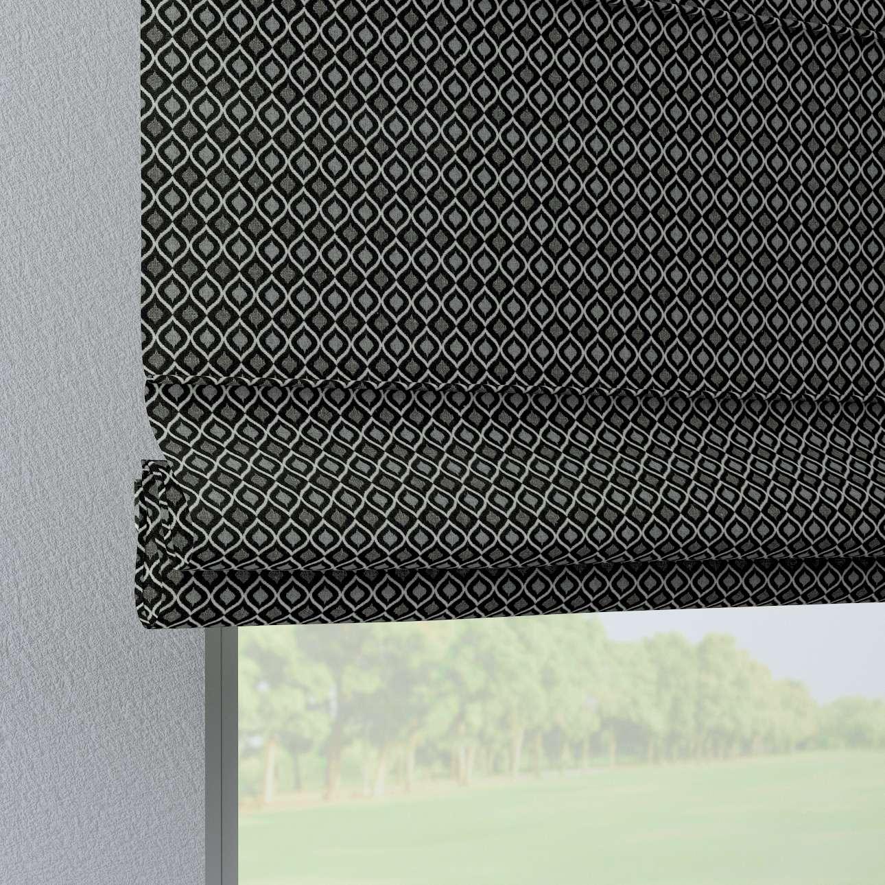 Liftgardin Verona<br/>Med stropper til gardinstang fra kolleksjonen Black & White, Stoffets bredde: 142-86
