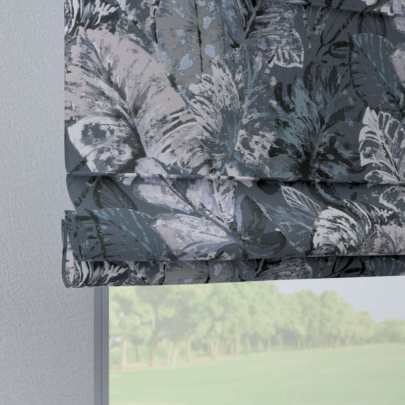 Liftgardin Verona<br/>Med stropper til gardinstang fra kolleksjonen Abigail, Stoffets bredde: 143-18
