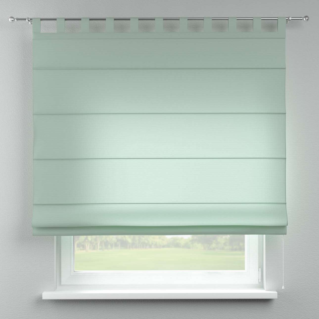 Verona tab top roman blind in collection Loneta , fabric: 133-61