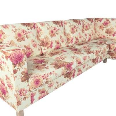Pokrowiec na sofę narożną lewostronną Karlanda w kolekcji Londres, tkanina: 141-06